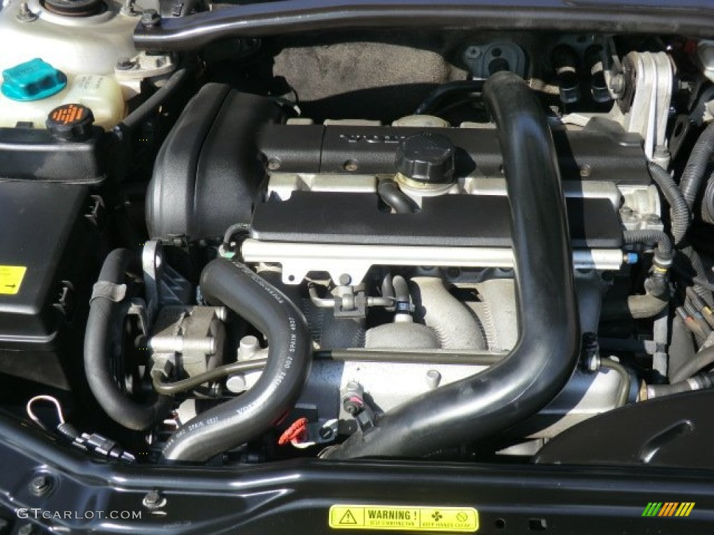 2002 Volvo S60 T5 2 3 Liter Turbocharged Dohc 20