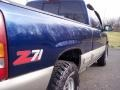 1999 Indigo Blue Metallic Chevrolet Silverado 1500 LS Z71 Extended Cab 4x4  photo #30