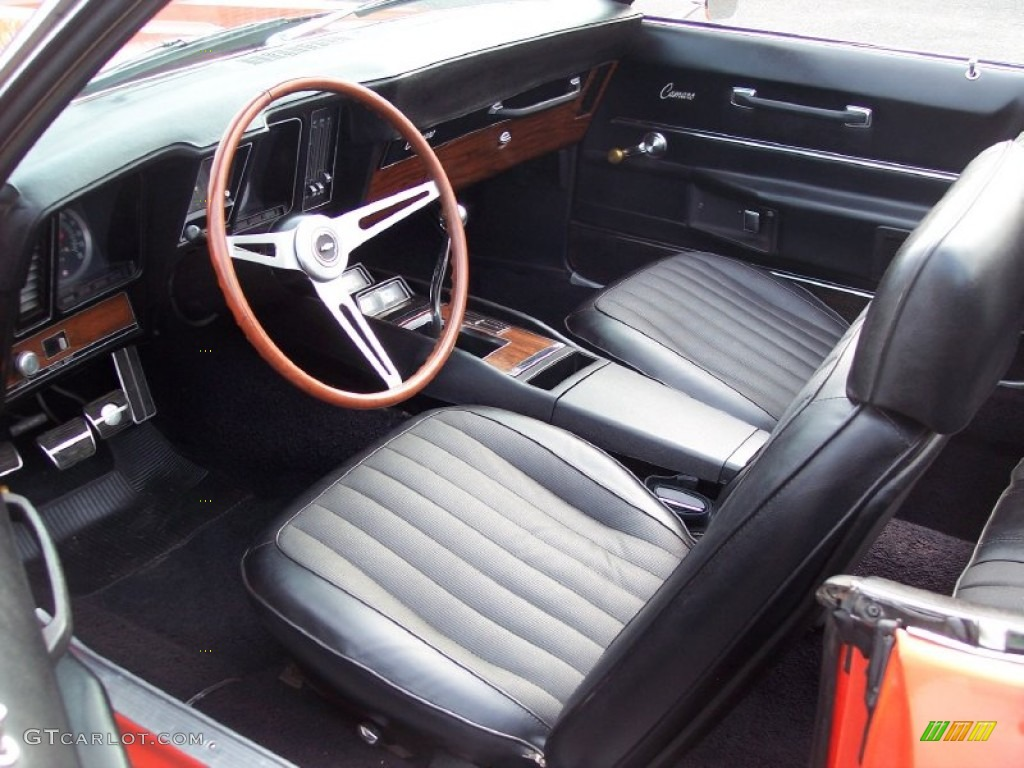 Black Interior 1969 Chevrolet Camaro Rs Ss Convertible Photo