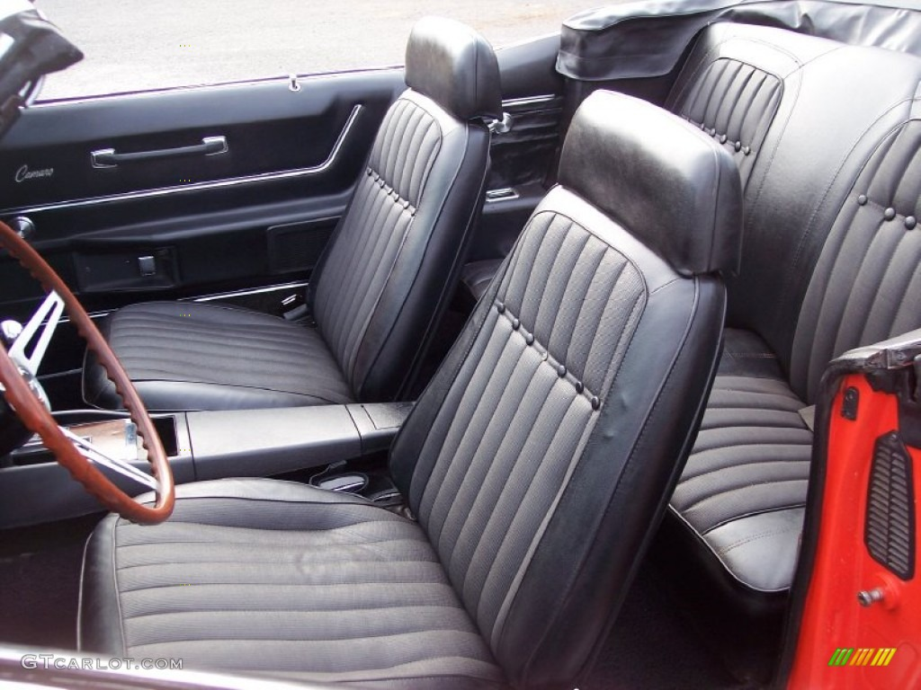 black interior 1969 chevrolet camaro rs ss convertible. Black Bedroom Furniture Sets. Home Design Ideas