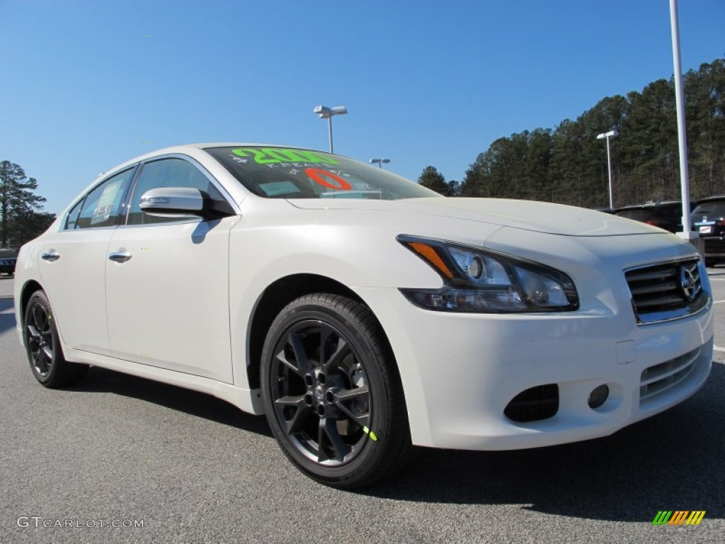 winter frost white 2012 nissan maxima 3 5 s exterior photo 62484049. Black Bedroom Furniture Sets. Home Design Ideas