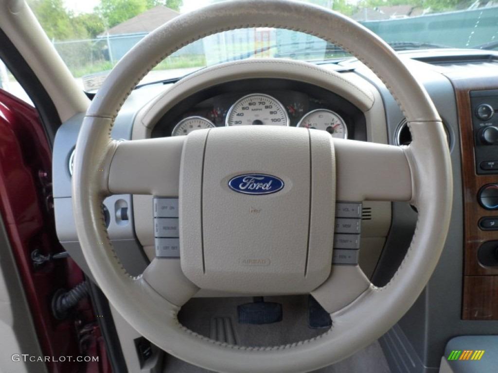 2017 Ford F 150 Lariat >> 2004 Ford F150 Lariat SuperCab 4x4 Tan Steering Wheel Photo #62489353 | GTCarLot.com