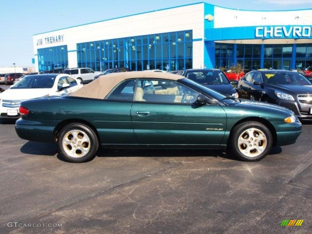 Forest Green Pearl Chrysler Sebring Jxi Convertible