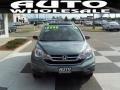 2010 Opal Sage Metallic Honda CR-V EX  photo #2