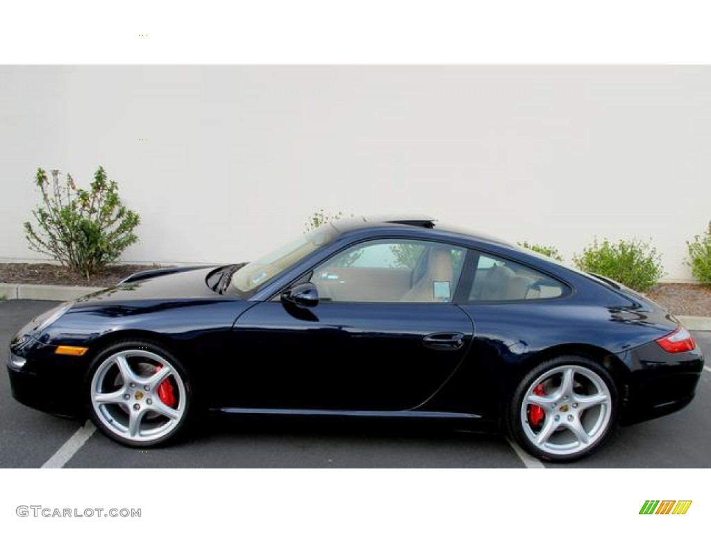 midnight blue metallic 2006 porsche 911 carrera s coupe. Black Bedroom Furniture Sets. Home Design Ideas