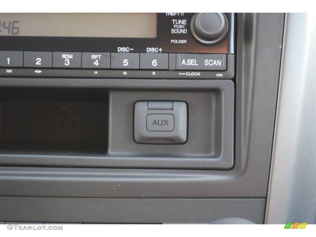 2008 CR-V LX 4WD - Royal Blue Pearl / Gray photo #24