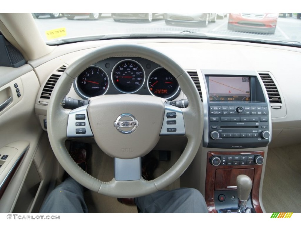 Captivating 2008 Nissan Maxima 3.5 SL Dashboard Photos