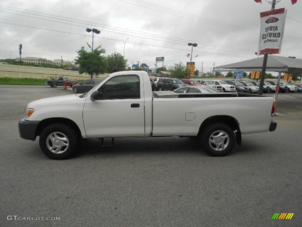 natural white 2003 toyota tundra regular cab exterior. Black Bedroom Furniture Sets. Home Design Ideas