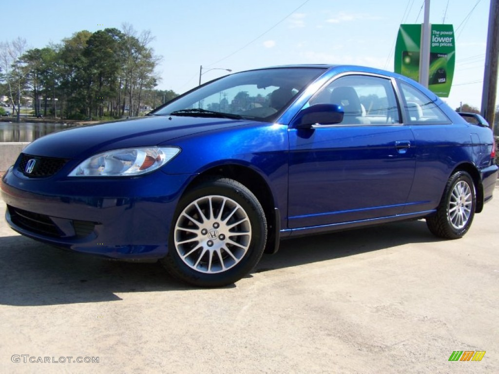 2005 fiji blue pearl honda civic ex coupe 62508080
