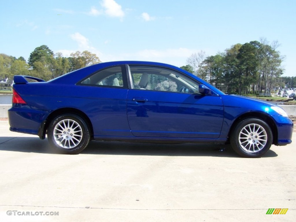 fiji blue pearl 2005 honda civic ex coupe exterior photo. Black Bedroom Furniture Sets. Home Design Ideas
