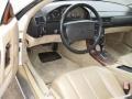 1991 SL Class 500 SL Roadster Parchment Interior