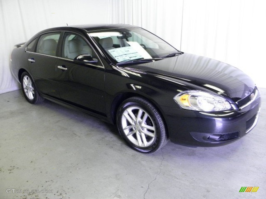 Black 2012 Chevrolet Impala LTZ Exterior Photo #69191702 ...
