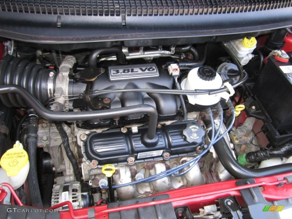 2005 Dodge Grand Caravan Sxt 3 8l Ohv 12v V6 Engine Photo  62522171