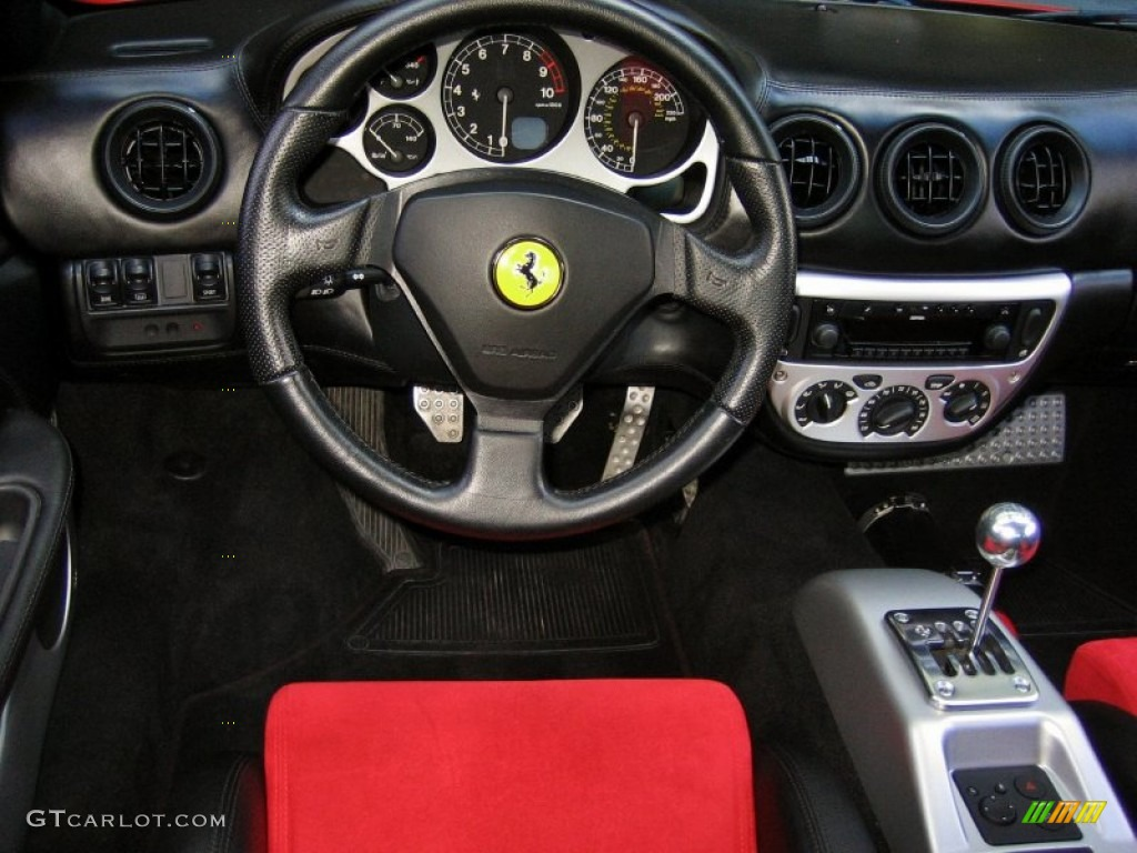 2004 Ferrari 360 Modena Black Dashboard Photo 62527619