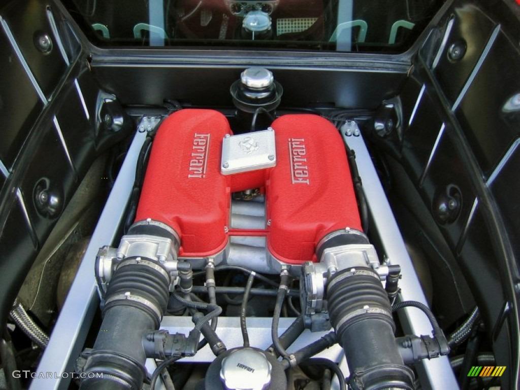 2004 Ferrari 360 Modena 3 6 Liter Dohc 40 Valve V8 Engine