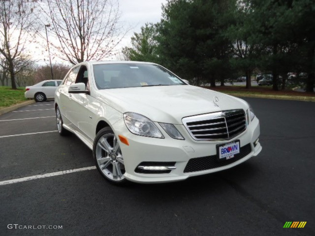 2012 arctic white mercedes benz e 350 4matic sedan for 2012 mercedes benz e350 4matic