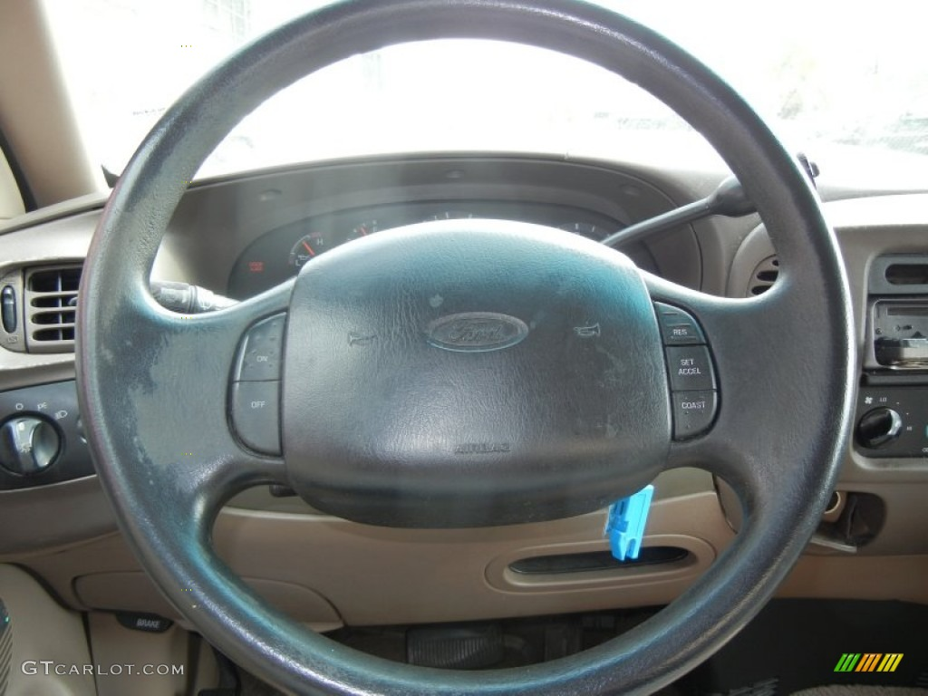 1997 Ford F150 XLT Extended Cab Steering Wheel Photos