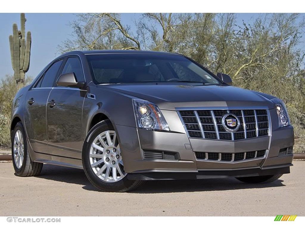 2012 Mocha Steel Metallic Cadillac Cts 3 0 Sedan 62530281