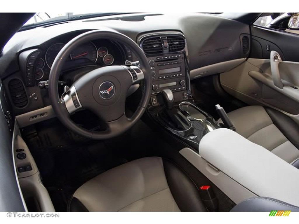 Ebony Black Titanium Interior 2011 Chevrolet Corvette