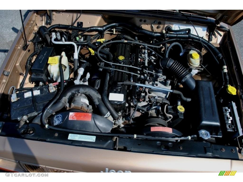 2000 jeep cherokee sport 4x4 4 0 liter ohv 12 valve inline 6 cylinder engine photo 62543305. Black Bedroom Furniture Sets. Home Design Ideas