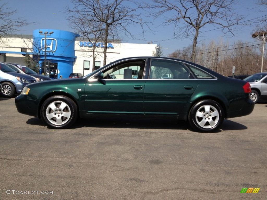 2001 Audi A6 2.7 T >> 2001 Racing Green Pearl Audi A6 2 7t Quattro Sedan 62530866