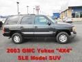 Carbon Metallic 2003 GMC Yukon SLE 4x4