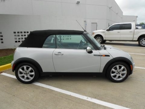 2008 Mini Cooper Convertible Sidewalk Edition Data, Info and Specs