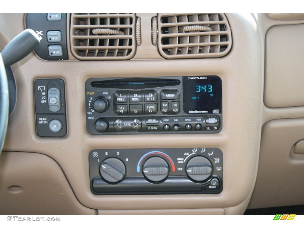 1999 Chevrolet Blazer LT 4x4 Controls Photo 62564847  GTCarLotcom