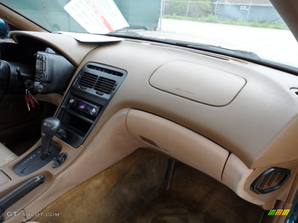 1996 Nissan 300zx Turbo Coupe Beige Dashboard Photo 62566799