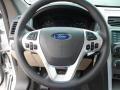 Medium Light Stone Steering Wheel Photo for 2013 Ford Explorer #62572660