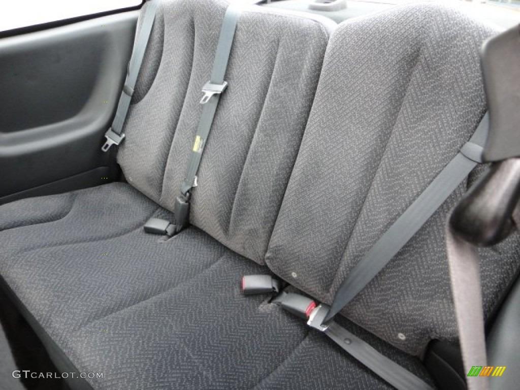2003 Chevrolet Cavalier LS Coupe Rear Seat Photos