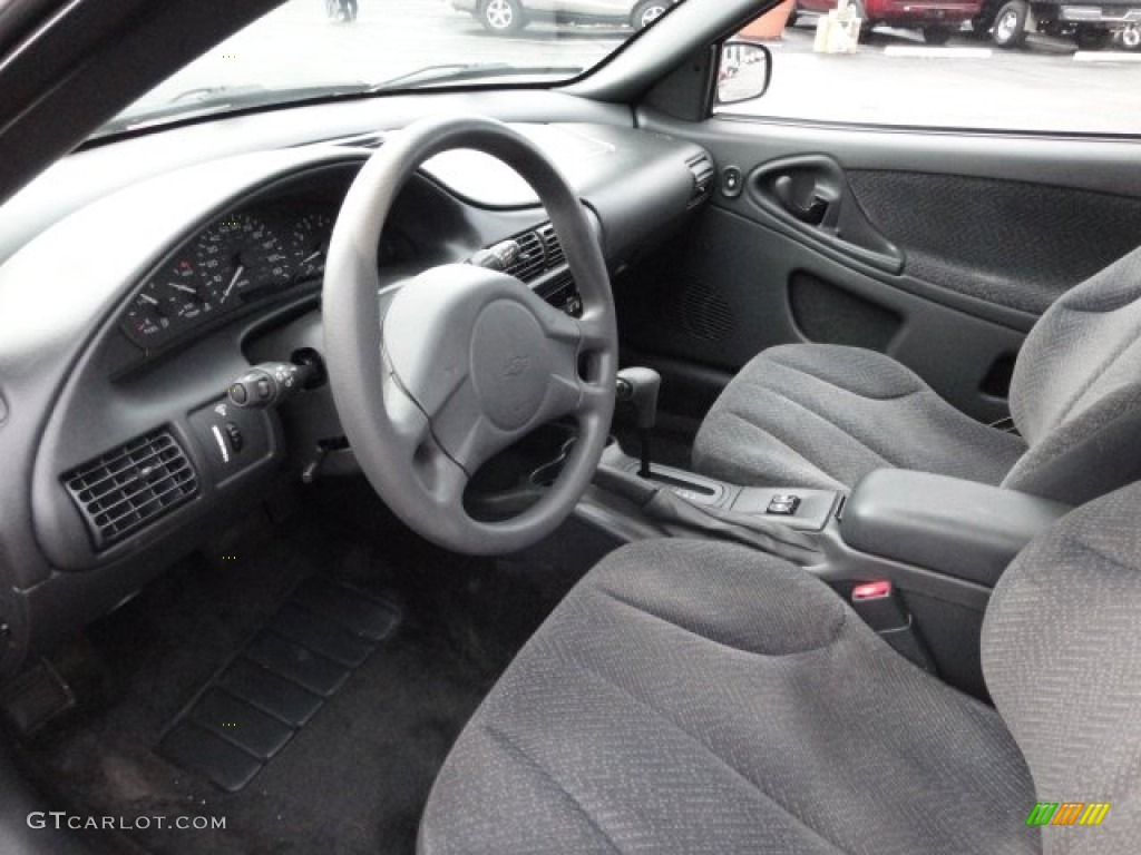 Graphite gray interior 2003 chevrolet cavalier ls coupe photo 62582434 gtcarlot com
