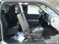 2012 Silver Ice Metallic Chevrolet Silverado 1500 LS Extended Cab 4x4  photo #16