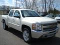 2012 White Diamond Tricoat Chevrolet Silverado 1500 LT Crew Cab 4x4  photo #2
