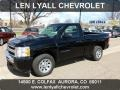 2011 Black Chevrolet Silverado 1500 LS Regular Cab  photo #1
