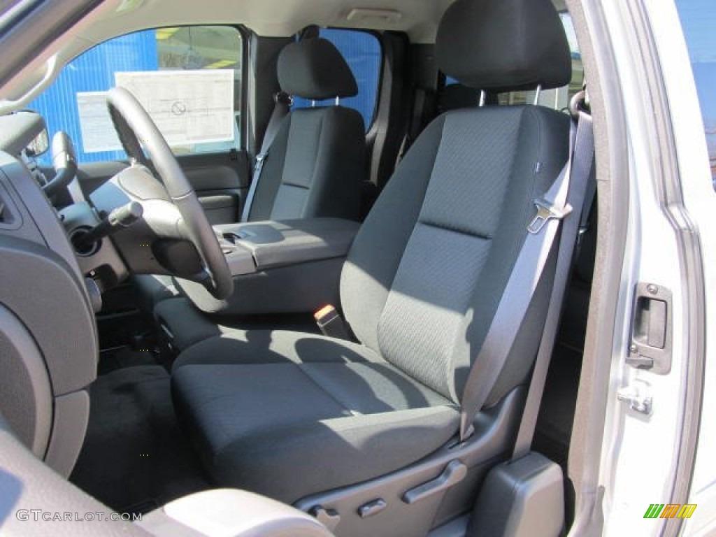 2012 Silverado 1500 LT Extended Cab 4x4 - Silver Ice Metallic / Ebony photo #8
