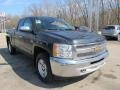 2012 Black Chevrolet Silverado 1500 LT Extended Cab 4x4  photo #5