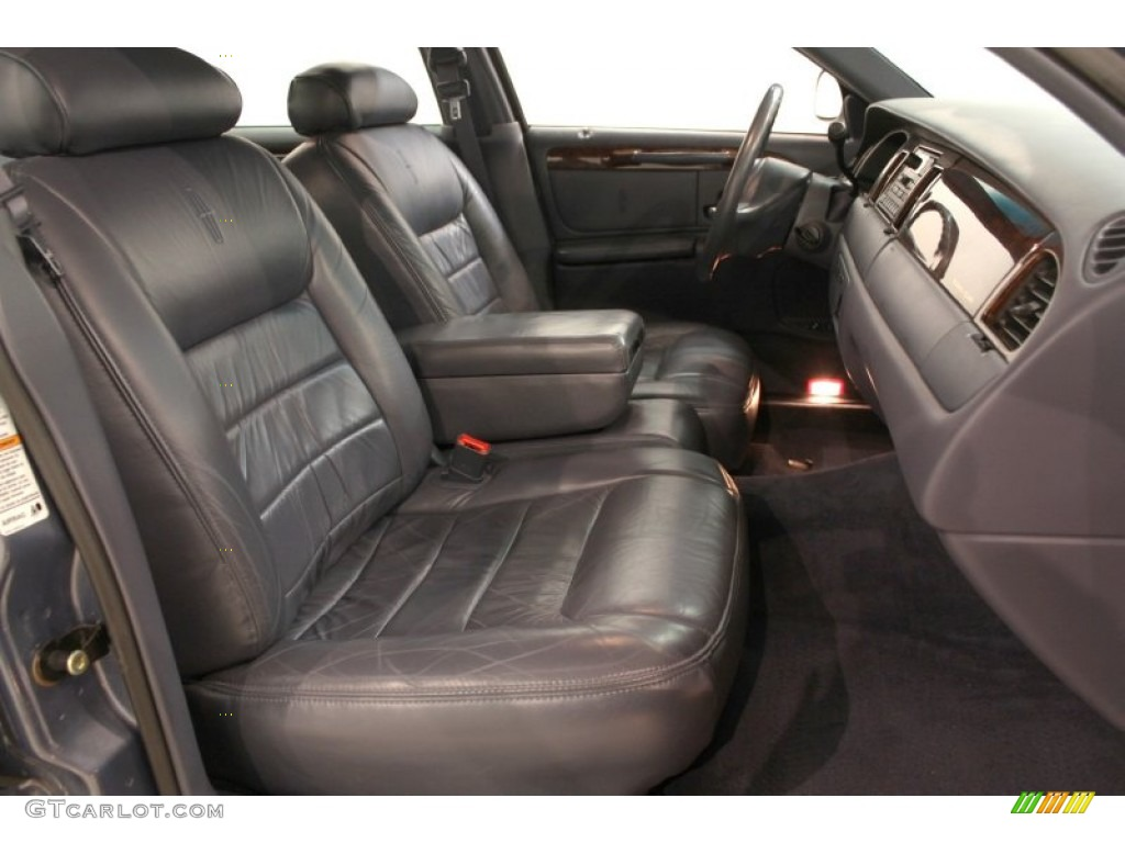 deep slate blue interior 2000 lincoln town car executive photo 62599103. Black Bedroom Furniture Sets. Home Design Ideas
