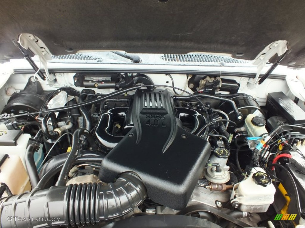 2001 Ford Explorer XLT 4.0 Liter SOHC 12-Valve V6 Engine Photo #62601050
