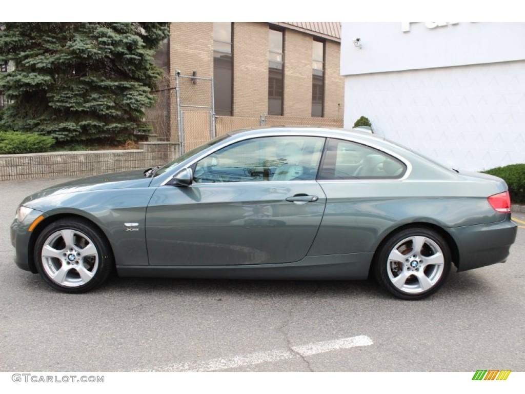 Tasman Green Metallic 2009 BMW 3 Series 328xi Coupe Exterior Photo #62606768 | GTCarLot.com