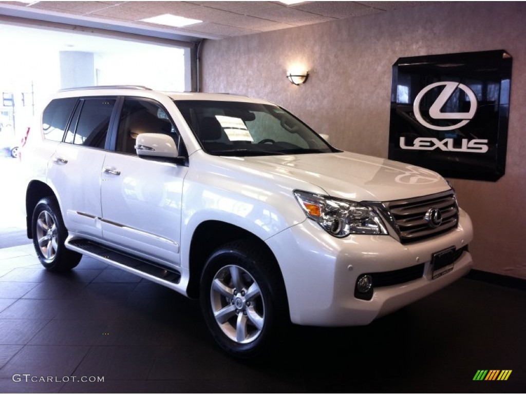 2012 Starfire White Pearl Lexus Gx 460 62596773 Car Color Galleries