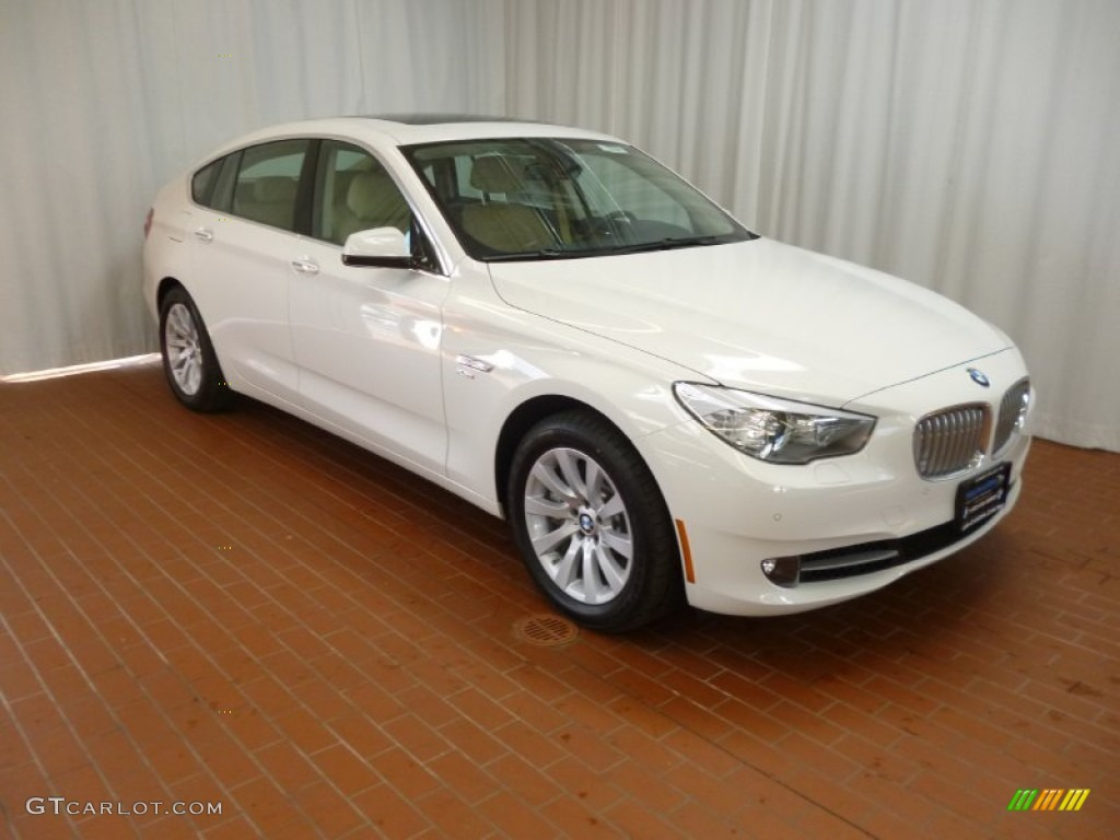 2012 alpine white bmw 5 series 550i xdrive gran turismo. Black Bedroom Furniture Sets. Home Design Ideas