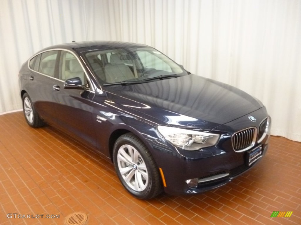 2012 deep sea blue metallic bmw 5 series 535i xdrive gran. Black Bedroom Furniture Sets. Home Design Ideas