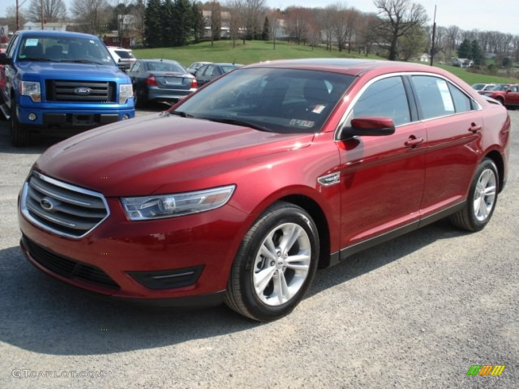 ruby red metallic 2013 ford taurus sel awd exterior photo 62617730. Black Bedroom Furniture Sets. Home Design Ideas