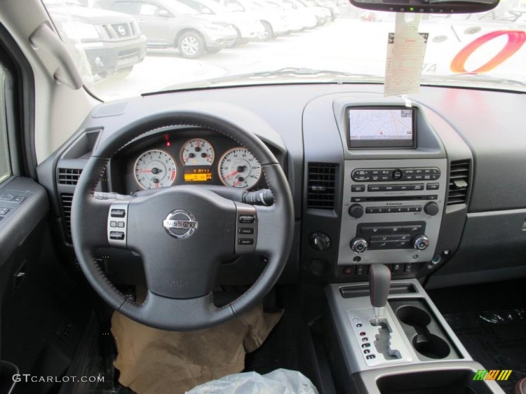 2012 Nissan Titan Pro 4x Crew Cab 4x4 Interior Photo