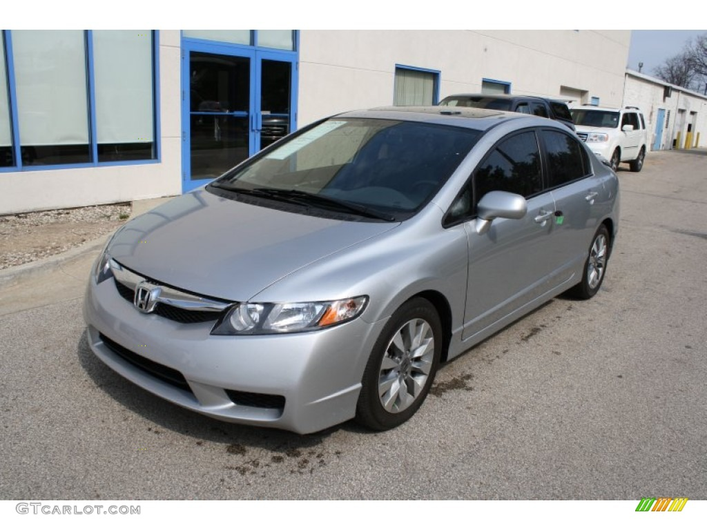 Alabaster Silver Metallic 2010 Honda Civic EX Sedan Exterior Photo ...