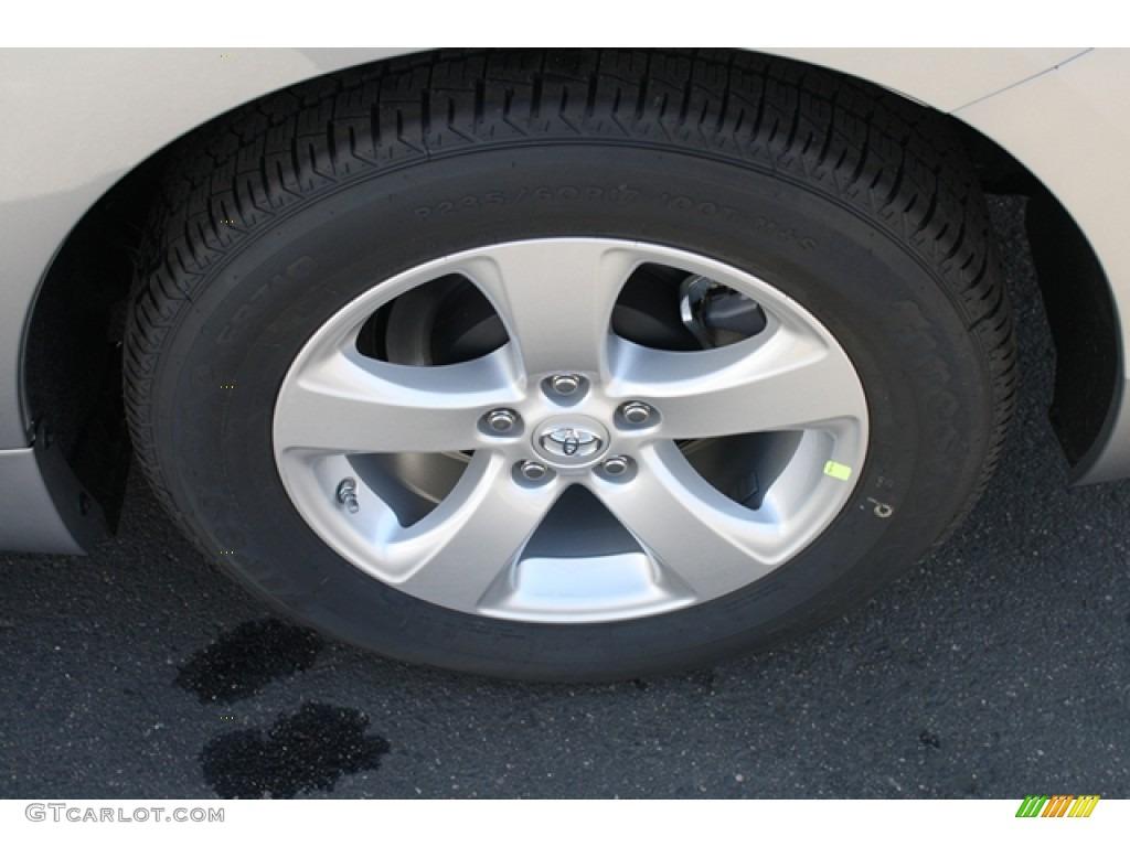2012 Sienna V6 - Silver Sky Metallic / Light Gray photo #14