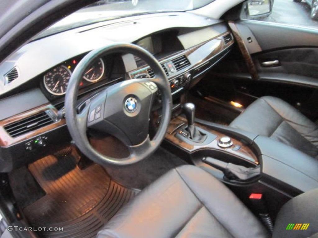 Black interior 2006 bmw 5 series 530xi wagon photo 62655900