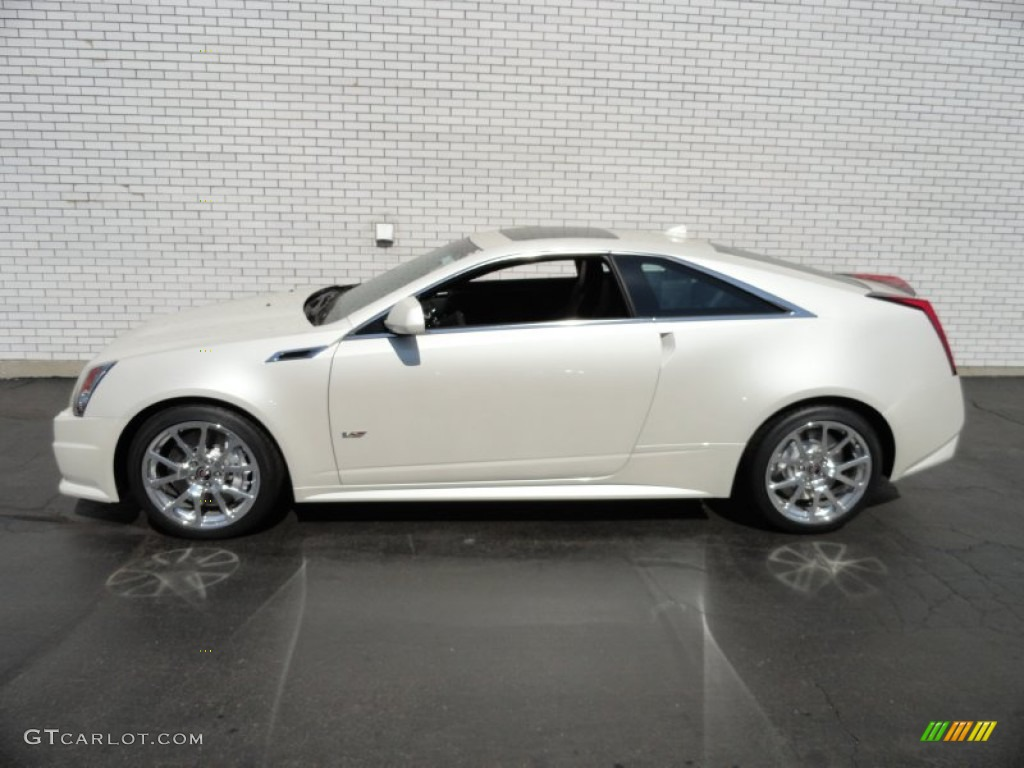 white diamond tricoat 2012 cadillac cts v coupe exterior photo 62662518. Black Bedroom Furniture Sets. Home Design Ideas