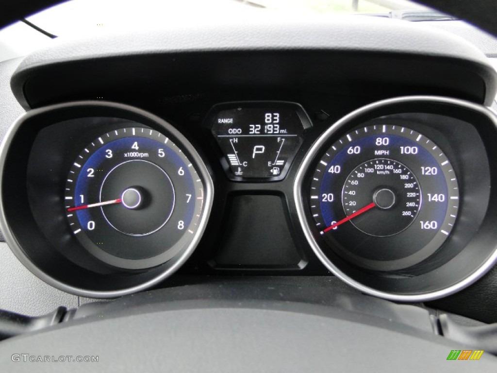 2011 Hyundai Elantra Gls Gauges Photo 62668695 Gtcarlot Com